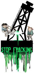 Aufkleber Fracking 01